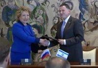 Валентина Матвиенко встретится с президентом Палестины