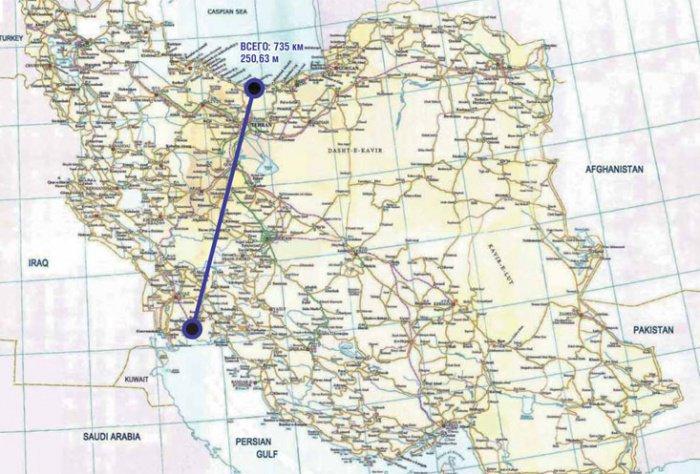 Невероятный проект судоходного канала «Каспий-Персидский залив»