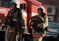 В Саратове в воинской части произошел пожар