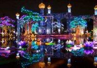 В Дубае открыли самый большой в мире тематический парк с иллюминациями