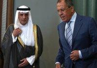 Лавров встретится с главой МИД Саудовской Аравии