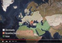 История распространения религий за 2000 лет