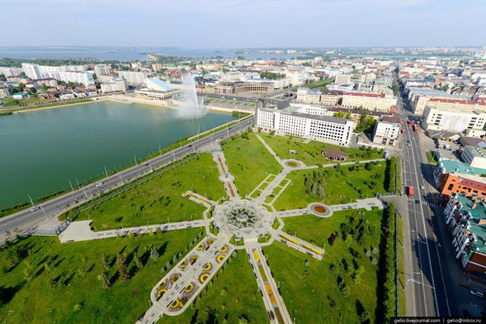 Парк 1000-летия Казани.