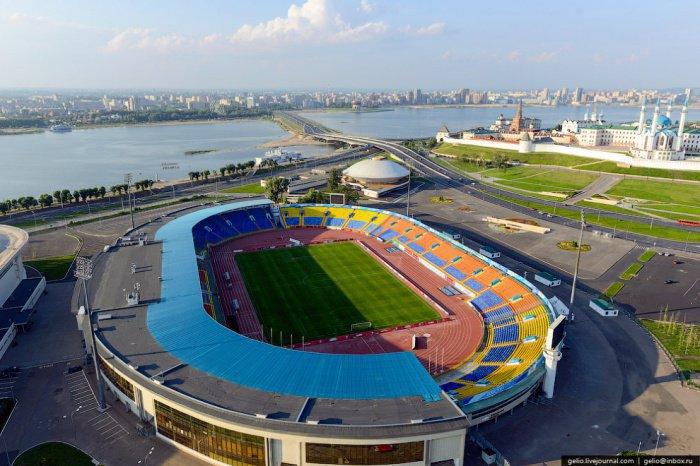 Центральный стадион.