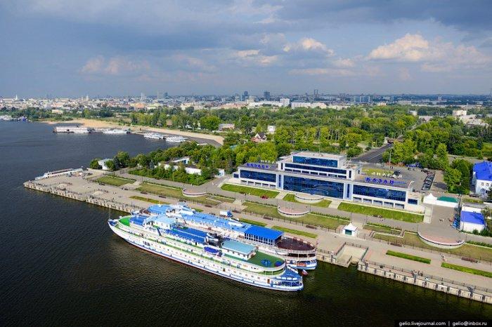 Казанский речной вокзал.