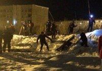 Сход лавины в Кировске: Спасатели пока не нашли пропавших людей