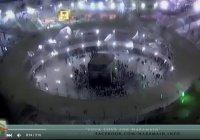 Редкие кадры: Таваф под проливным дождем