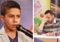 Жюри заплакало, услышав как сирийский мальчик читает Коран