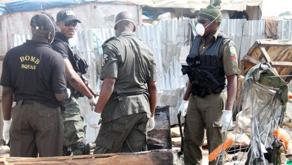Вблизи начальной школы в Нигерии прогремел взрыв.