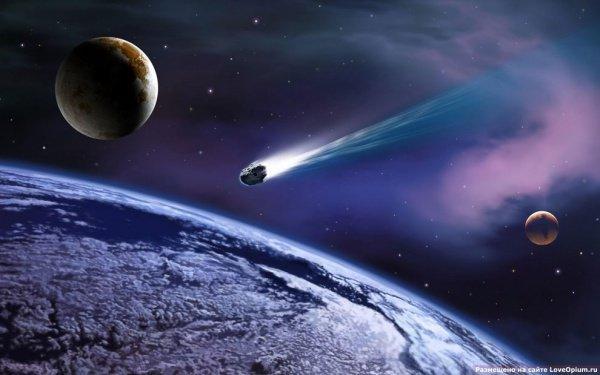 Над Атлантическим океаном взорвался крупный метеорит