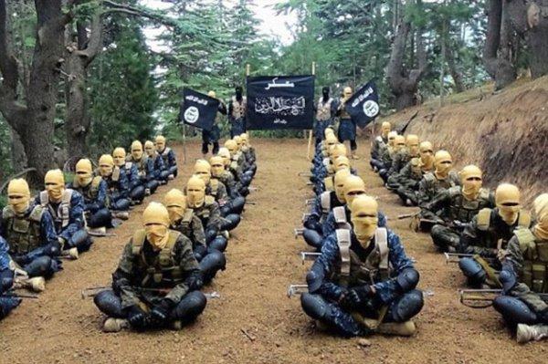 Тренировочный лагерь ИГИЛ.