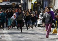 Полиция Стамбула открыла огонь по женской демонстрации