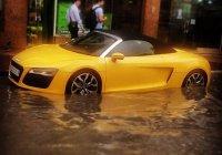 Потоп в аравийской пустыне