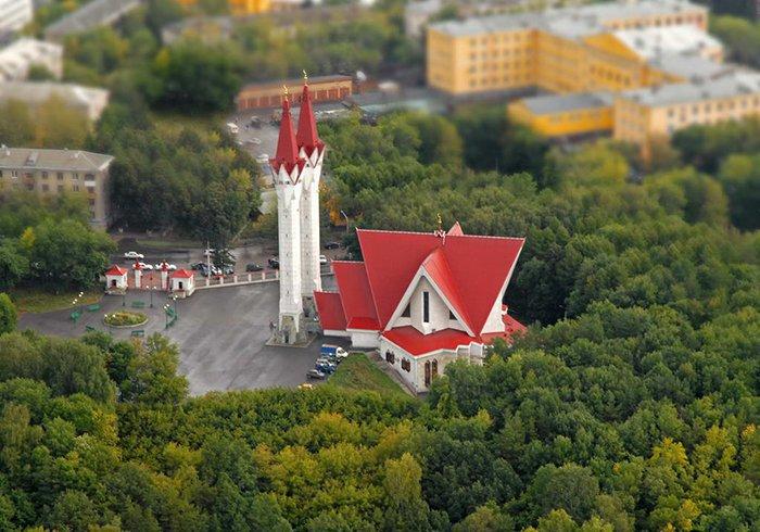 Мечеть Ляля-Тюльпан - символ приходящей весны