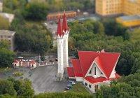 Собери паззл: мечеть Ляля-Тюльпан
