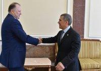 Рустам Минниханов призвал власти Калининграда решить вопрос со строительством мечети