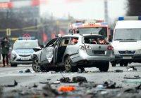 Полиция ФРГ: Взрыв автомобиля в Берлине – не теракт