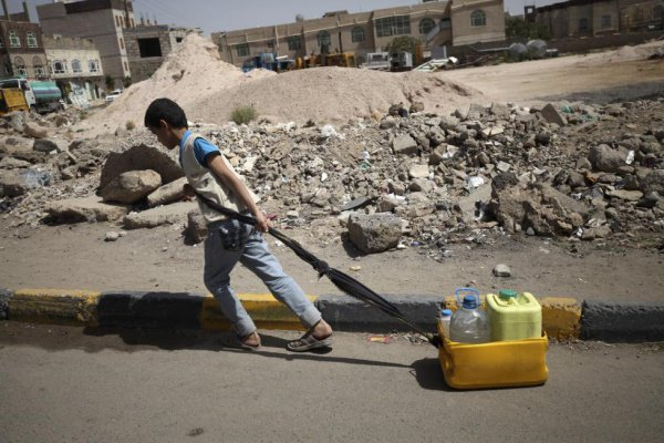 Йемен находится в глубоком гуманитарном кризисе.