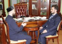 Муфтият Татарстана посетил заместитель муфтия Крыма хаджи Эсадуллах Баиров
