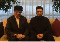 Муфтий Татарстана встретился с Альбиром хазратом Кргановым