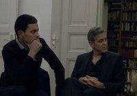 Джордж Клуни встретился с сирийскими беженцами (Фото, видео)
