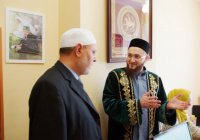 Муфтият Татарстана посетил шейх Мухаммад Сунбуль