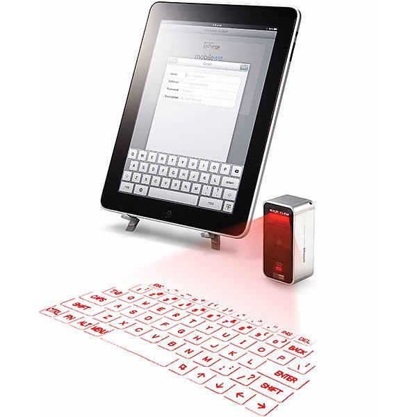 Виртуальная клавиатура для мобильных устройств Apple.