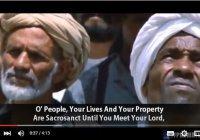 Что завещал Пророк (мир ему) в своей прощальной проповеди?