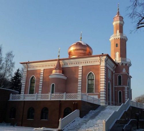 Новая Соборная мечеть Минска.