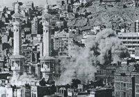 Ужасные кадры боя в главной мечети ислама
