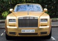 Миллиардер из КСА привез в Лондон свой золотой автопарк (ФОТО)