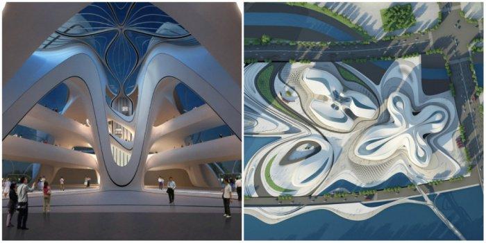 Международный центр культуры и искусства Чанша, Китай