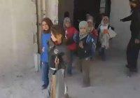 США заявили об авиаударе по зданиям сирийских школы и больницы (Видео)