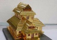 Золотую копию мечети подарили саудовскому королю