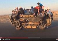 Как меняют колеса в Саудовской Аравии?