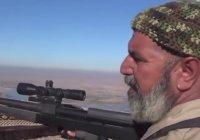 62-летний иракский снайпер записал на свой счет более 170 боевиков ИГ (Видео)