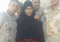Египетские военные арестовали боевика ИГИЛ в женской одежде