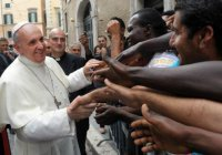 Папа Римский подтвердил визит в лагерь беженцев