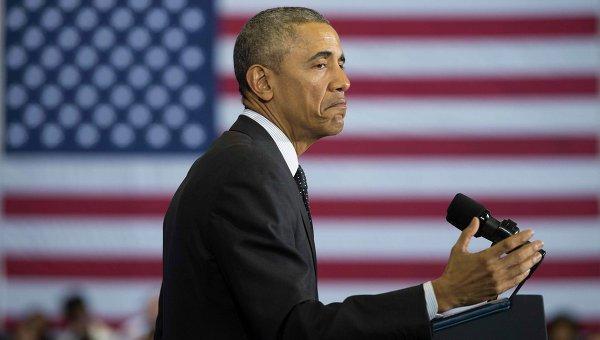 Барак Обама выступил в штаб-квартире ЦРУ.