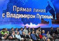 Онлайн-трансляция прямой линии Президента РФ