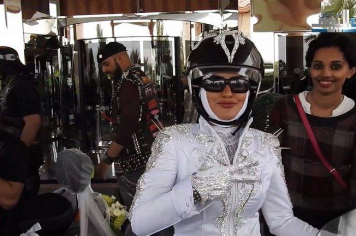 Наряд невесты из ОАЭ вызвал фурор  в СМИ