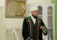 Муфтий РТ провел пятничную проповедь в мечети «Иман нуры» (Фото)
