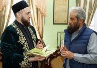 Муфтий РТ встретился с шейхом Хамадом ас-Синаном (Фото)