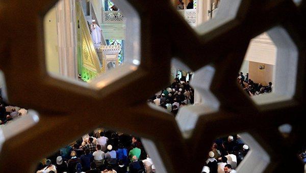 Драка в алтайской мечети.