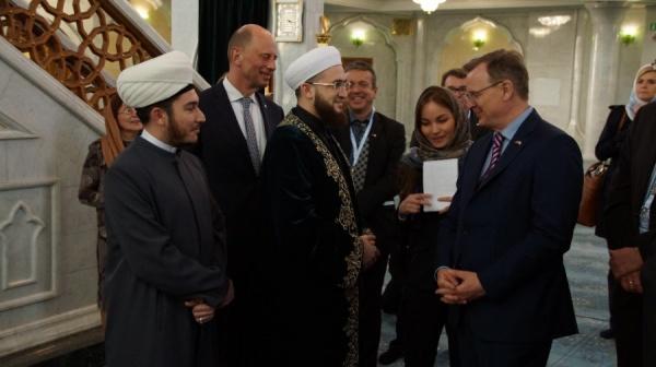 """В мечети """"Кул Шариф""""."""