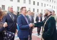 Муфтий РТ встретился с Премьер-министром Тюрингии Бодо Ромеловым (Фото)