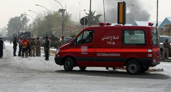 ВБагдаде в итоге взрыва погибли как минимум 9-ти человек