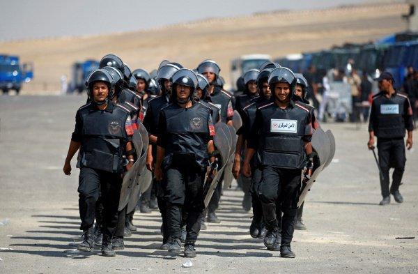 Полиция Египта готовится к протестам.