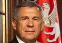 Рустам Минниханов поздравил татарстанцев с днем рождения Тукая