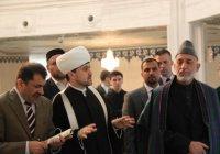 Московскую Соборную мечеть посетил экс-президент Афганистана (Фото)